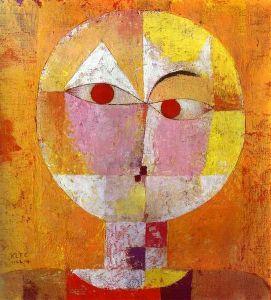Klee Senecio 1922