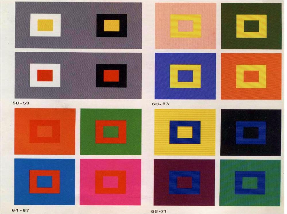 """Ilustración extraída de """"El Arte del Color"""", Johannes Itten"""