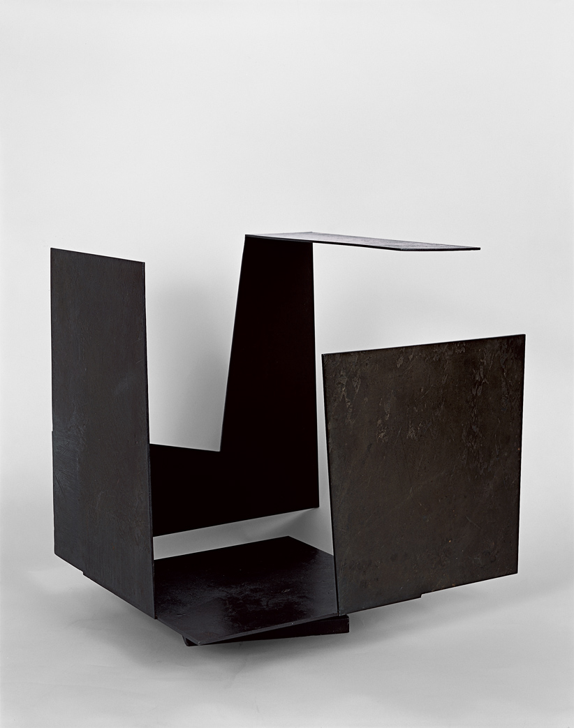 Caja vacía con gran apertura, 1958. Oteiza.