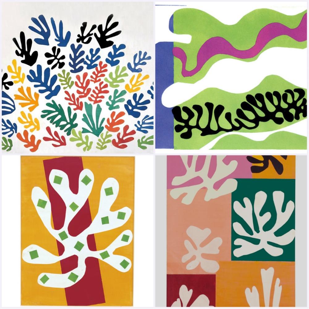 collage Matisse